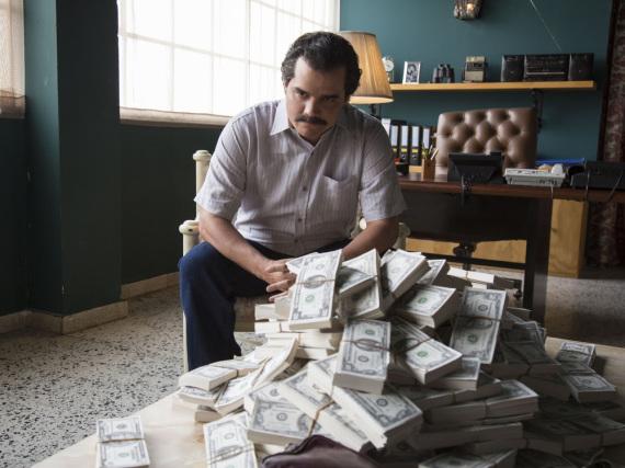 Wagner Moura als Pablo Escobar in der ersten Staffel von