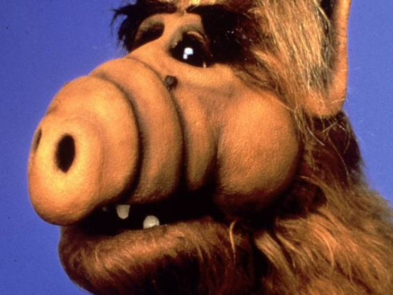 Kultfigur der 80-er: Michu Meszaros schlüpfte in die Rolle von Alf