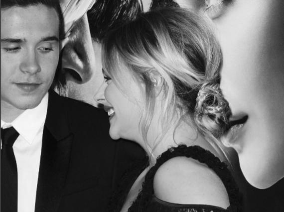 Brooklyn und seine Freundin Chloe Grace Moretz bei der Premiere von