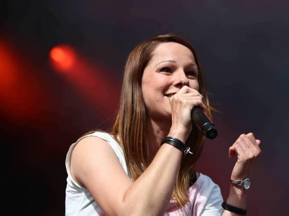 Christina Stürmer bei einem ihrer Auftritte
