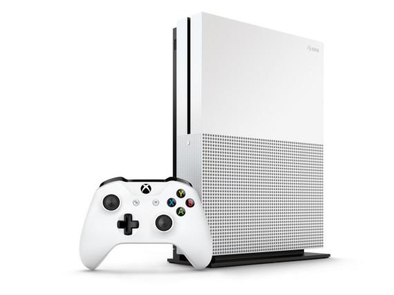 So wird die Xbox One S von Microsoft aussehen