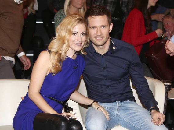 Andrea Kaiser und Ehemann Sébastien Ogier zu Gast bei Markus Lanz