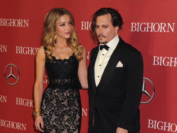 Ein Bild aus friedlichen Tagen: Amber Heard und Johnny Depp