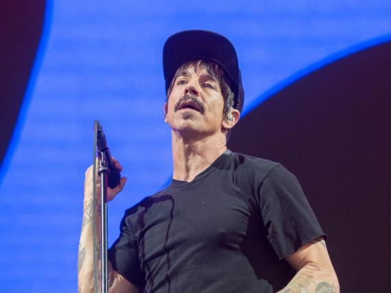 Anthony Kiedis bei einem Auftritt in Kalifornien