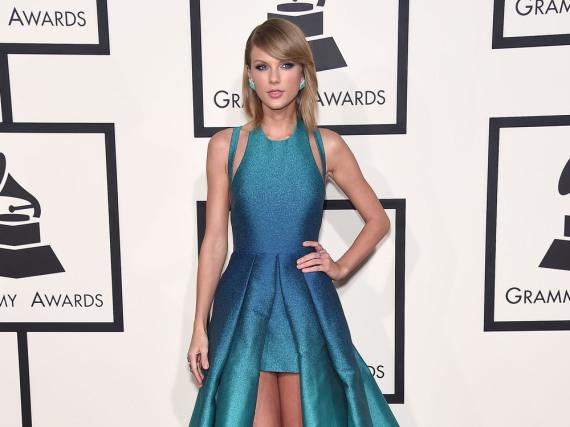 Taylor Swift verägert im Moment