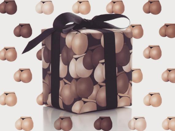 Kim Kardashians Gesäß ist einer der beliebtesten Kimojis - jetzt gibt es ihn auch auf Geschenkpapier