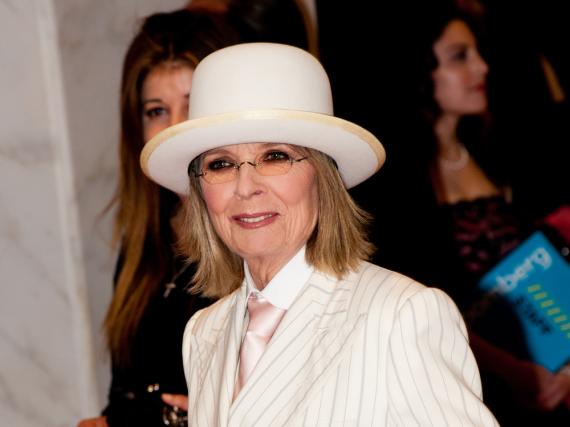 Diane Keaton hat einen ganz besonderen Männergeschmack