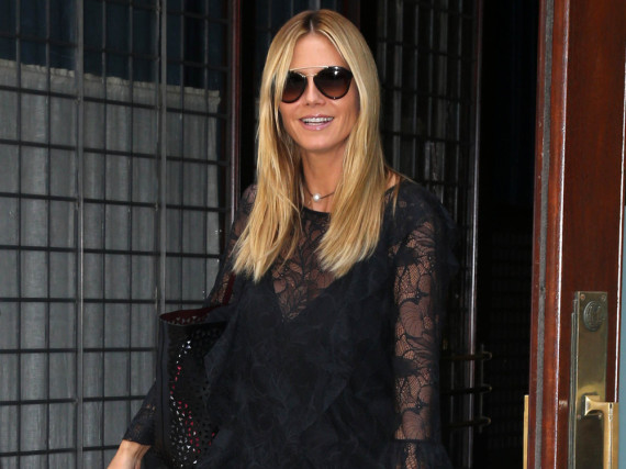 Top gestylt in New York: Heidi Klum