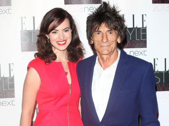 Ron Wood und seine Ehefrau Sally sind seit 2012 verheiratet