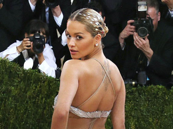 Rita Ora bei der Costume Institute Gala im Mai in New York