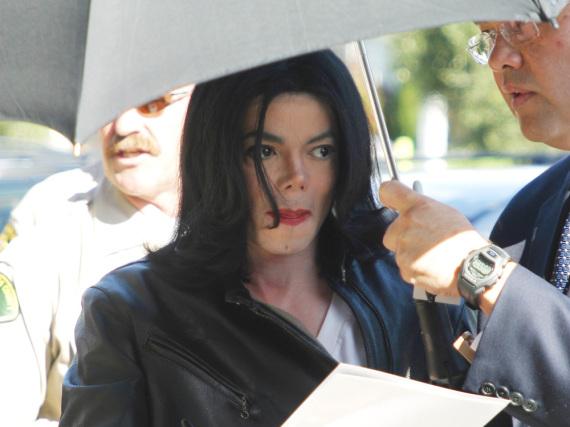 Michael Jackson im Jahr 2002