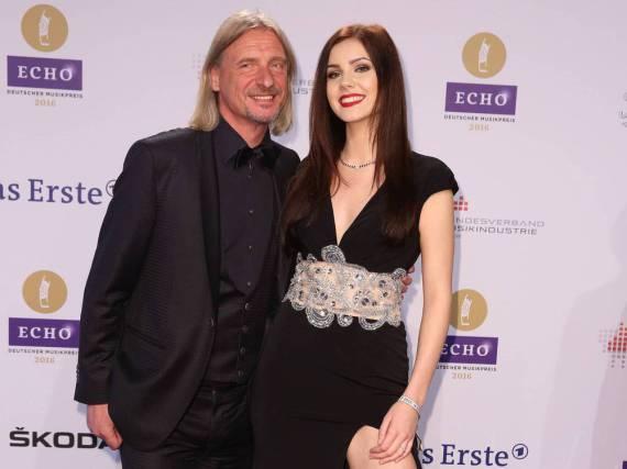 Nathalie Volk und Frank Otto trennt ein Altersunterschied von 39 Jahren