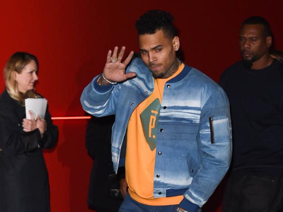 Ausnahmsweise lammfromm: Chris Brown im März in Paris