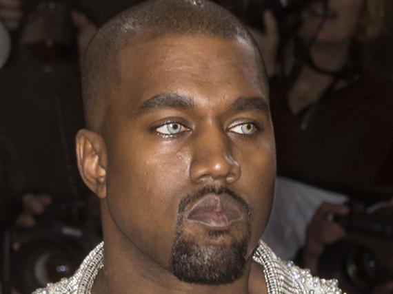 Kanye West bei der Met Gala 2016