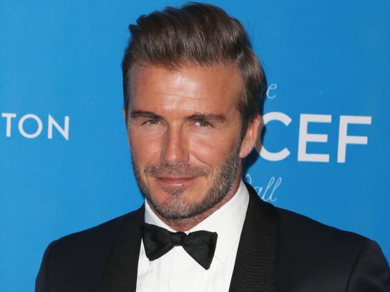 David Beckham beim Unicef-Ball im Januar 2016