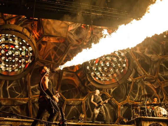 Einer der Headliner des Hurricane Festivals: Rammstein