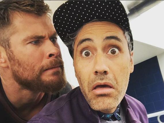 Chris Hemsworth lässt seine Fans am Spaß teilhaben