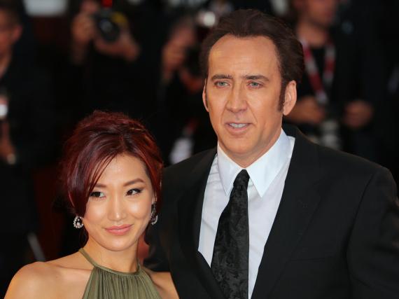 Nicolas Cage und seine Frau Alice Kim gehen nun getrennte Wege