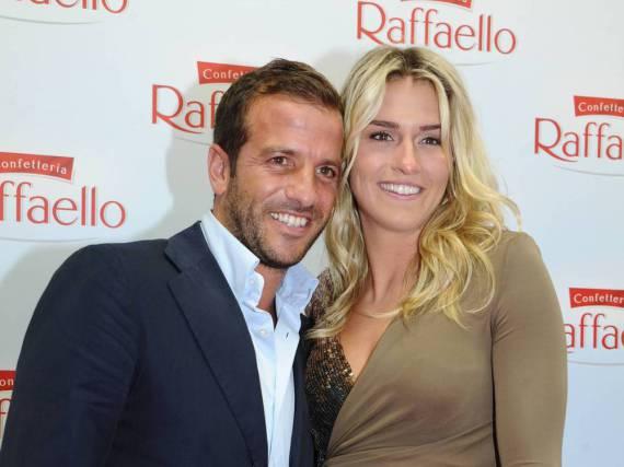 Rafael van der Vaart und seine Freundin Estavana Polman beim