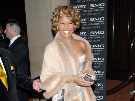 Whitney Houston auf einer Gala im Jahr 2007