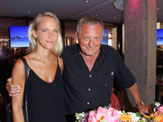 Annik Berlin und Konstantin Wecker beim Sommerfest der Agenturen