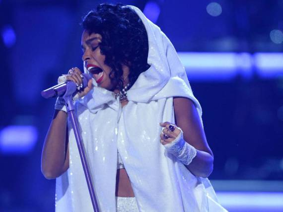 Jennifer Hudson performte den Prince-Hit