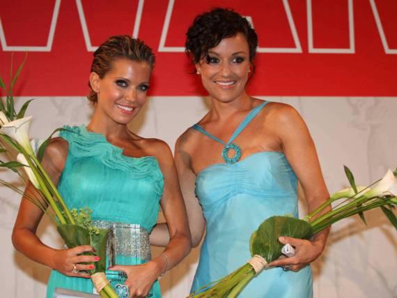 Sylvie Meis (l.) und Miriam Pielhau auf einer Gala 2010.