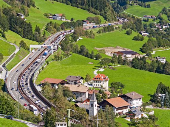 Die Brennerautobahn gehört zu den vielbefahrensten Strecken in Europa