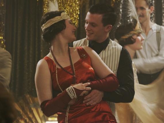 Gwendolyn (Maria Ehrich) und Gideon (Jannis Niewöhner) in den goldenen Zwanzigern