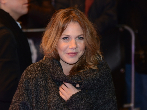 Felicitas Woll - hier bei einer Veranstaltung im Februar 2015 - soll für einen Kinofilm wieder in die Rolle der Lolle schlüpfen
