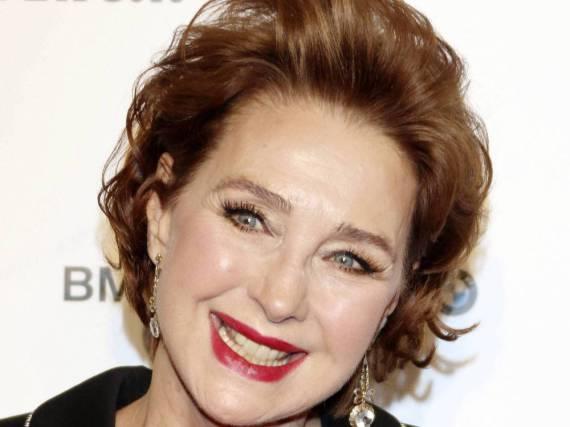 Christine Kaufmann sieht auch im Alter noch blendend aus
