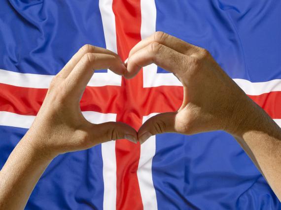 Island ist im Herzen Europas angekommen