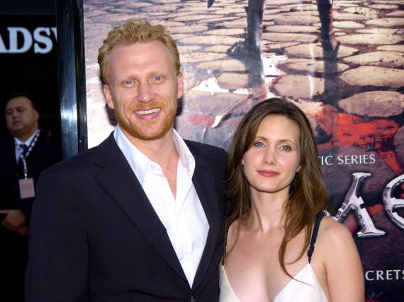 Ein Bild aus noch glücklichen Zeiten: Kevin McKidd mit seiner Frau Jane