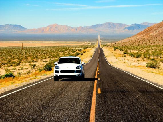 Hinter dem Horizont geht's weiter: Roadtrip in Nevada