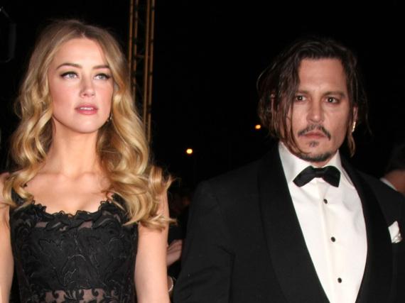 Aktuell alles andere als Liebe: Johnny Depp und Amber Heard