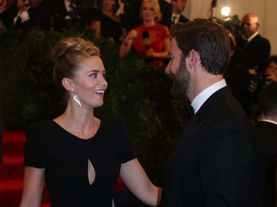 Wenn das kein Grund zur Freude ist: Emily Blunt und John Krasinski sind zum zweiten Mal Eltern geworden