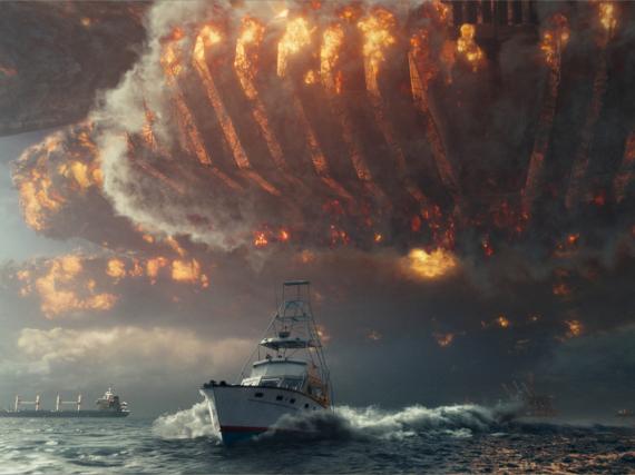 Beim zweiten Angriff auf die Menschheit fahren die Aliens noch schwerers Geschütz auf