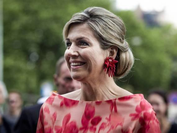 Königin Máxima der Niederlande hatte Glück im Unglück und verletzte sich nur leicht