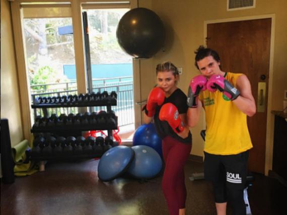 Chloë Grace Moretz und ihr Freund Brooklyn Beckham haben das Boxen für sich entdeckt
