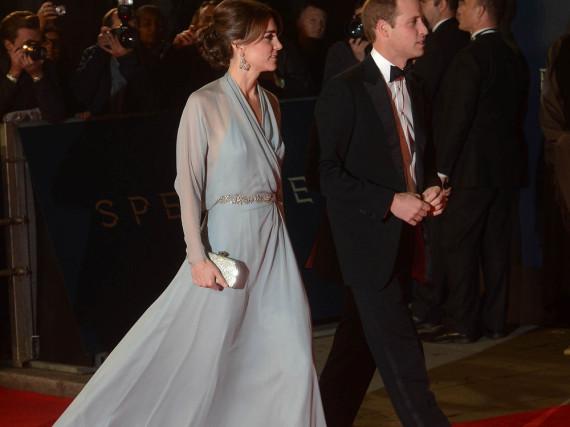 Glanzvoller Auftritt auf dem roten Teppich: William und seine Kate