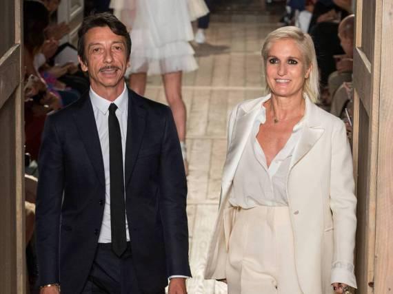 Pierpaolo Piccioli muss nun ohne Maria Grazia Chiuri bei Valentino weitermachen