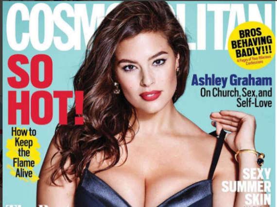 Ashley Graham posiert selbstbewusst auf dem Cover der
