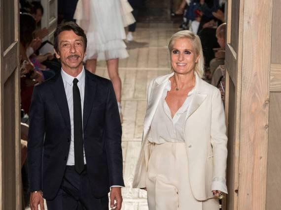 Maria Grazia Chiuri verlässt Valentino für Dior, Pierpaolo Piccioli macht alleine weiter.