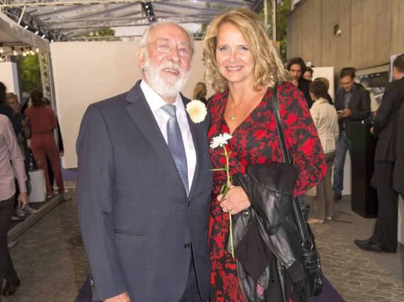 Dieter Hallervorden und Christiane Zander Anfang Juli bei einer Veranstaltung in Berlin