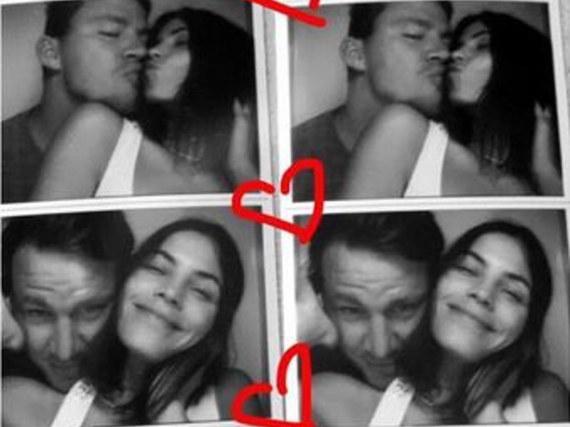 Diese niedlichen Pärchenbilder postete Jenna Dewan-Tatum auf ihrem Instagram-Account