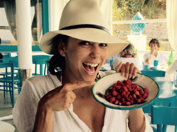 Scharf auf Superfoods ist auch Eva Longoria