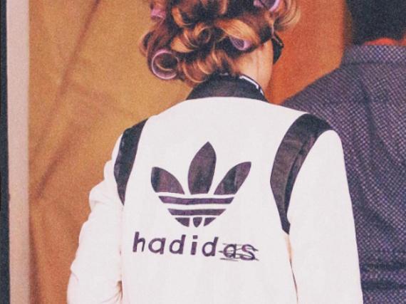 Dieses Foto von ihrer personalisierten Jacke postete Gigi Hadid auf ihrem Instagram-Account