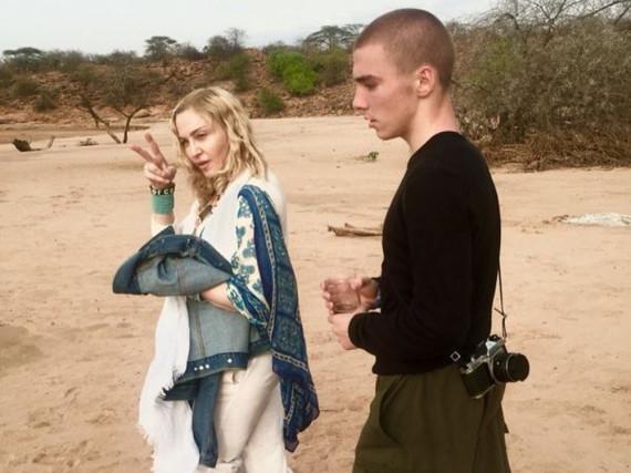 Endlich wieder vereint: Bei Madonna und ihrem Sohn Rocco stehen die Zeichen auf Versöhnung