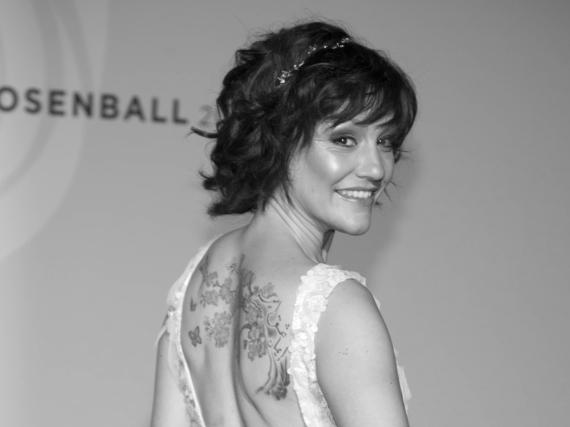 Miriam Pielhau 2014 bei einem Ball in Berlin. Am Dienstag ist sie im Alter von 41 Jahren gestorben