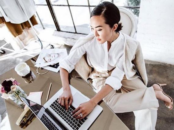 Modebloggerin Chriselle Lim ist stets perfekt